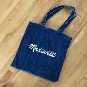 Madewell Denim Tote Bag